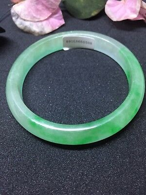 VERY FINE green jadeite jade bangle