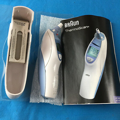 Braun Thermoscan 5 IRT 4520 Exactemp Digital Baby Children Ear Thermometer NEW!