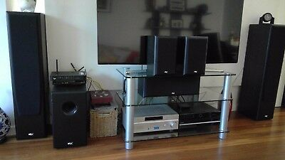 Surround sound system.  Sony & DTX.