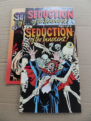 Seduction Of The Innocent 1 - 3 . Eclipse 1985 . VF +