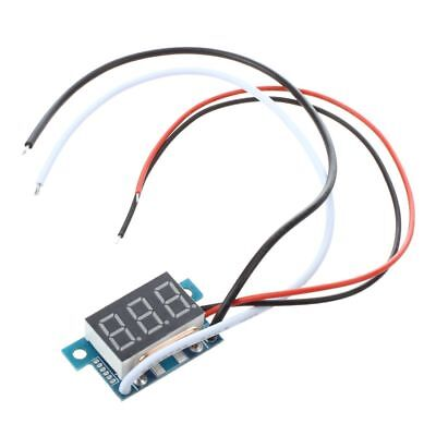 Digital Mini Ammeter Ammeter of power indicator LED Red 0-5A panel meter G3Q5