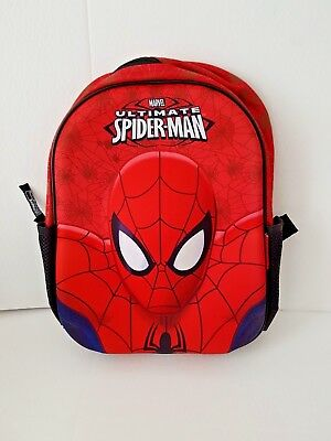 Marvel Spiderman 3D Backpack School Rucksack Kids Junior Bag