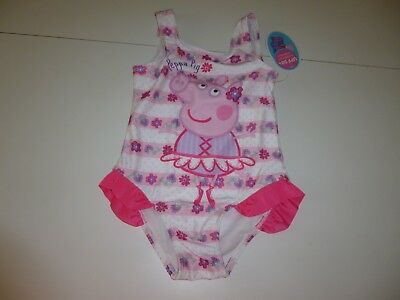 Peppa Pig Girls 1pc Bathing Suit  Size  3T   NWT