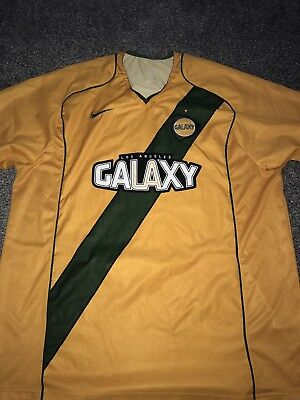 LA Galaxy Home Shirt 2004/05 2X-Large Rare And Vintage