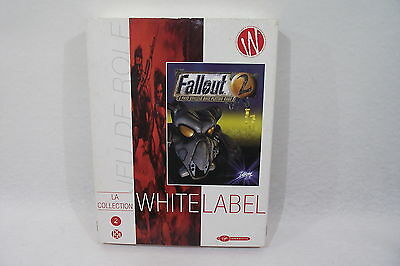 FALLOUT 2 jeu PC RPG 2 CD White Label A post nuclear role playing game Virgin
