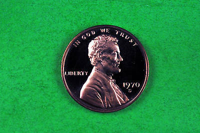1970-S   Cameo Lincoln Penny US GEM  Proof Coin