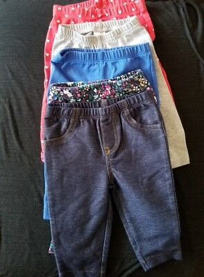 Carter's Baby Girl Pants 3 Months Lot of 5 pants