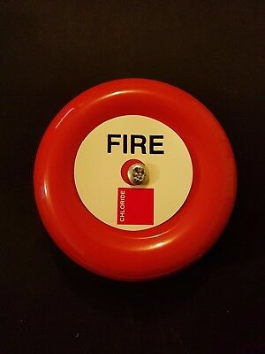 "Bardic - Fulleon ZF71 6"" 24v Bell Red ( FIRE )  CHLZF71   * NEW and Boxed *"