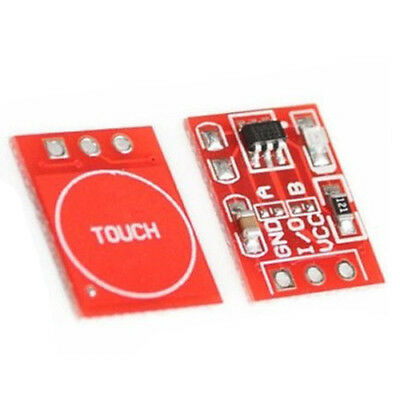 2X(2PCS TTP223 Capacitive Touch Switch Button Self-Lock Module for Arduino A8D7)