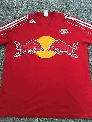 New York Red Bull Match Worn Away Shirt 2006/07 Canero 21 Rare And Vintage