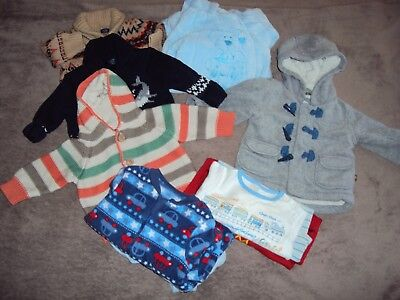 3-6 months baby boys  winter clothes bundle