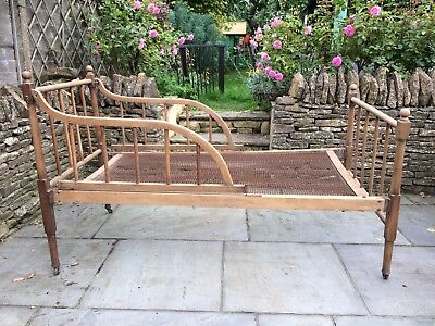 Charming Antique Childs Bed