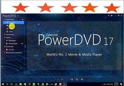 Cyberlink PowerDVD 17 Ultra *****( Fast Delivery )