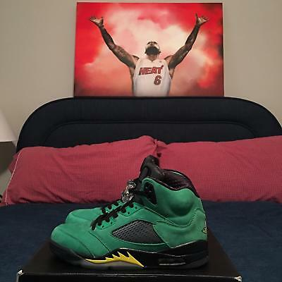 "Nike Jordan V 5 ""Oregon Ducks"" Promo Sample SZ 10 (DS)"