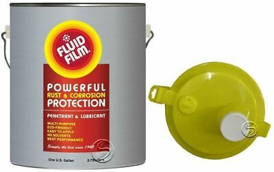 Fluid Film 1 Gallon Pail Rust Corrosion Protection with  pouring spout