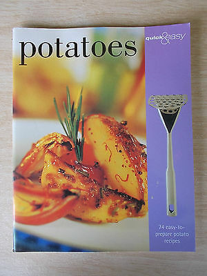 Quick & Easy Potatoes~Recipes~Cookbook~80pp P/B