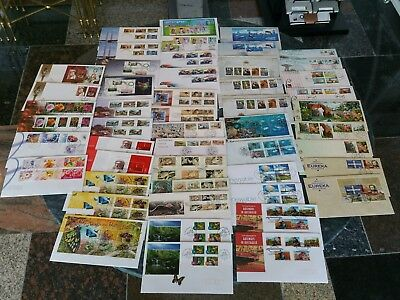 Bulk Lot FDC Stamped Envelopes Australia Stamp Sheet Variation Butterflies LWF