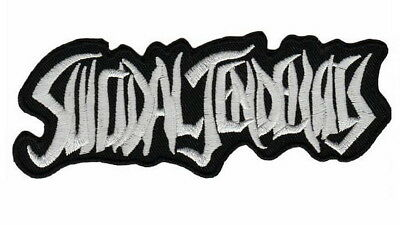 """SUICIDAL TENDENCIES Thrasher Skater Embroidered Iron On Sew On Badge Patch 4.9"""""""