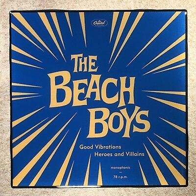 THE BEACH BOYS Coaster Good Vibrations/Heroes Villians Record Cover Ceramic Tile