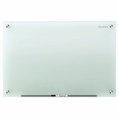 Quartet Glass Dry Erase Board, 2 x 1.5 Feet, Frosted Surface (Non-Magnetic)