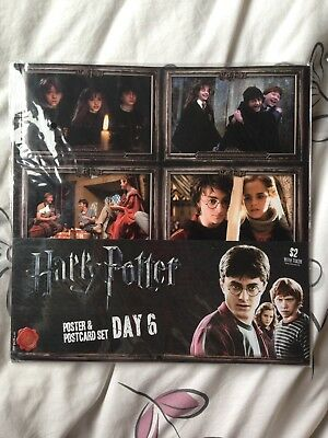 Harry Potter Posters & Postcard Set Day 5 & Day 6