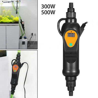 300/500W Aquarium Fish Tank External Aquatics Submersible Water Heater Heating
