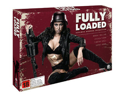 Fully Loaded (Schlock Horror Collection) NEW PAL Cult 6-DVD Set Sophie Monk