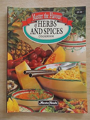 Master The Flavour of Herbs & Spices Cookbook~MasterFoods~Recipes~Cookbook~1994