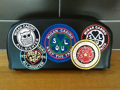 Wigan Casino themed Scooter Back Rest Cover (Purse Style) no 2