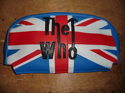 The Who Union Jack Scooter Back Rest Cover (Purse Style)