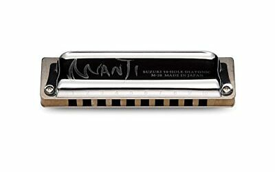 Suzuki M-20-LD Manji Diatonic Harmonica, Key of Low D
