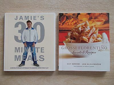2 x Mini Cookbook Collection~Guy Grossi & Jamie Oliver~2 x 60pp