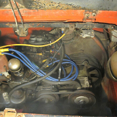 Fiat 850 sports coupe. Complete Engine and gearbox