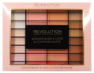 Makeup Revolution Ultimate Blush Light and Contour Palette Ultimate Gift Set New