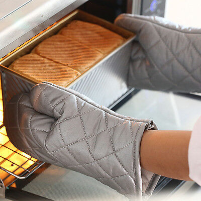 Microwave Oven Mitten Insulated Non-Slip Glove High Temperature Baking Tools