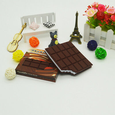 Excellent Quality Portable Stationery Notebook Chocolate Memo Pad Cover Notepad