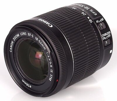 Canon EF-S 18-55mm f/3.5-5.6 IS STM - Objetivo