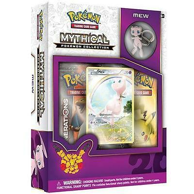 Pokemon 20th Anniversary Mythical Collection - Mew Pin Box Sealed Mint #10