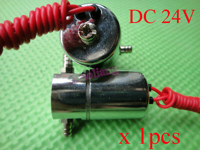 DC 24V Electric Solenoid Valve Magnetic For Water Air Oil N/C Normally Closed