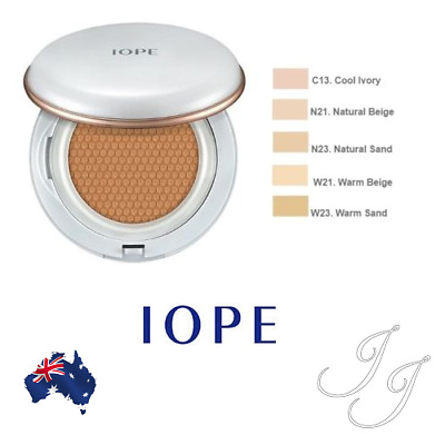 IOPE AIR CUSHION NEW 2017 with Extra Refill 2x15g SPF 50 PA+++ Amore Pacific