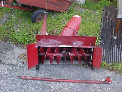 WHEEL HORSE SNOW Blower Attachment (COMPLETE / GOOD SHAPE)