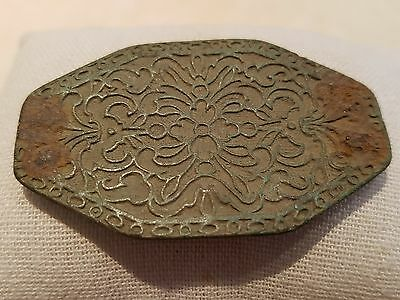 Stunningly beautiful and very rare Roman Byzantine bronze box/casket lid  L4i
