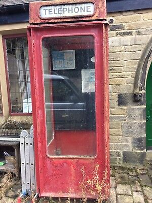 Old Red GPO Telephone Box