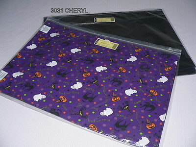 Longaberger Halloween Party Reversible Placemats Set Of Four 4 - New
