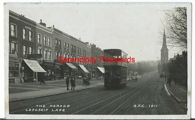 EAST DULWICH Parade Shop Fronts Lordship Lane Post Office FOREST HILL TRAM RP