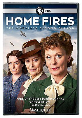 Masterpiece: Home Fires The Complete Second Season 2 (DVD, 2017, 2-Disc Set) NEW
