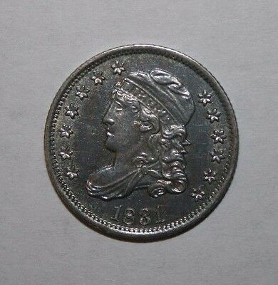 1831 Capped Bust Half Dime HJ36