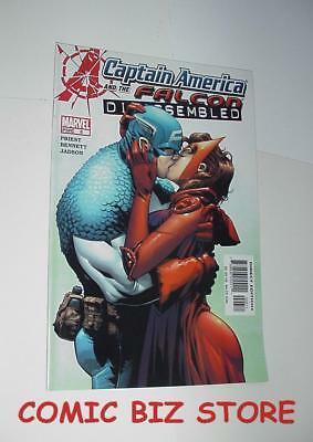 Captain America Disassembled And The Falcon #6 (2004) 1St Printing Marvelcomics