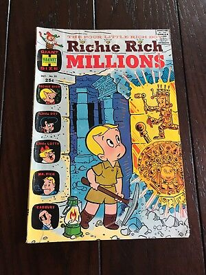 Richie Rich Millions. #25. October 1967. Giant Size.
