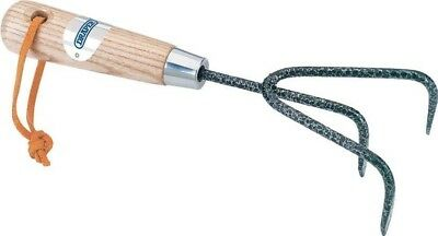 Draper 14316 Carbon Steel Heavy Duty Hand Cultivator with Ash Handle